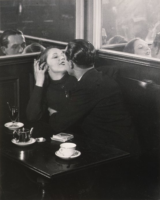 Pair of Lovers in a little Cafe, Italian Quarter